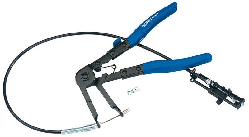 Pince à cable pour collier de serrage automobile à clip