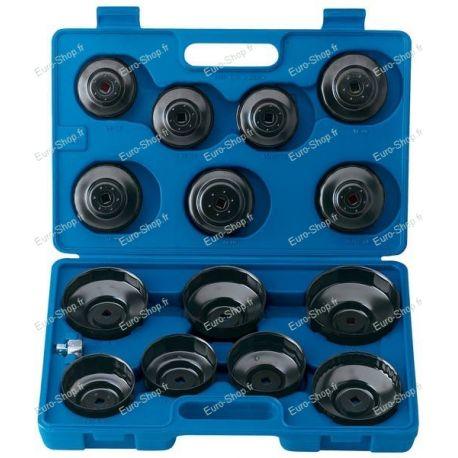 Coffret de 15 cloches pour filtre à huile