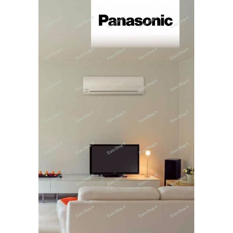 Climatiseur pompe chaleur panasonic inverter for Climatiseur mural panasonic prix