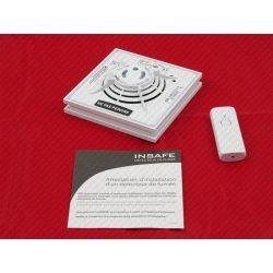 Détecteur de fumée NF autonome INSAFE + avec télécommande