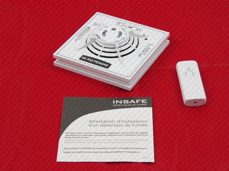 detecteur de fumee autonome insafe. Black Bedroom Furniture Sets. Home Design Ideas