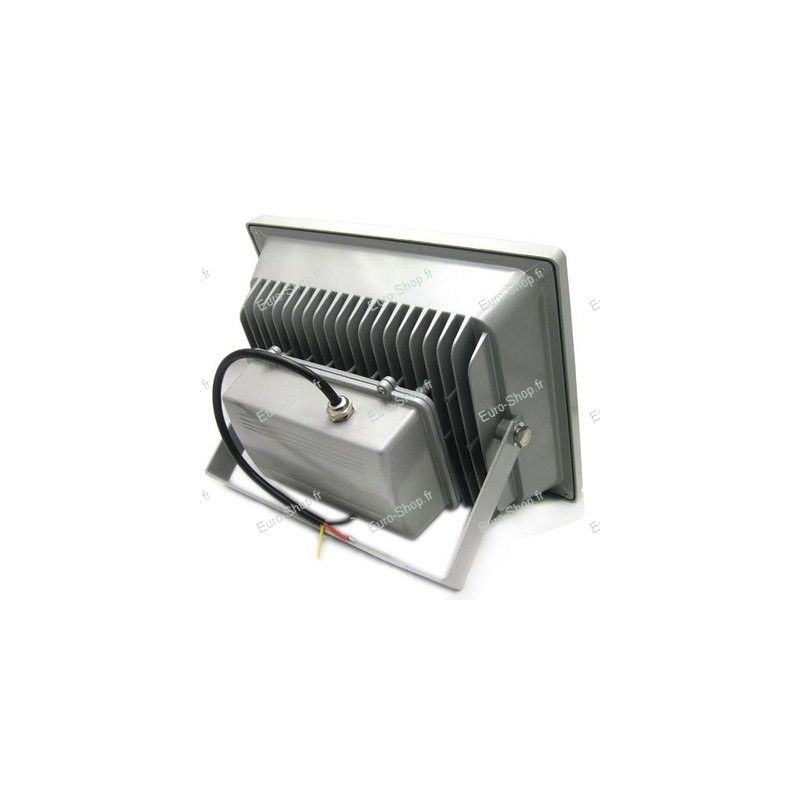 Projecteur led ext rieur 50 watts blanc froid ou chaud for Projecteur exterieur 500 watts