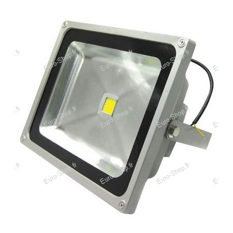 Projecteur led ext rieur 50 watts blanc froid ou chaud for Projecteur jardin exterieur