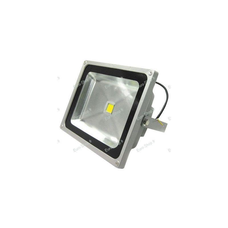 Projecteur led ext rieur 50 watts blanc froid ou chaud for Projecteur jardin exterieur