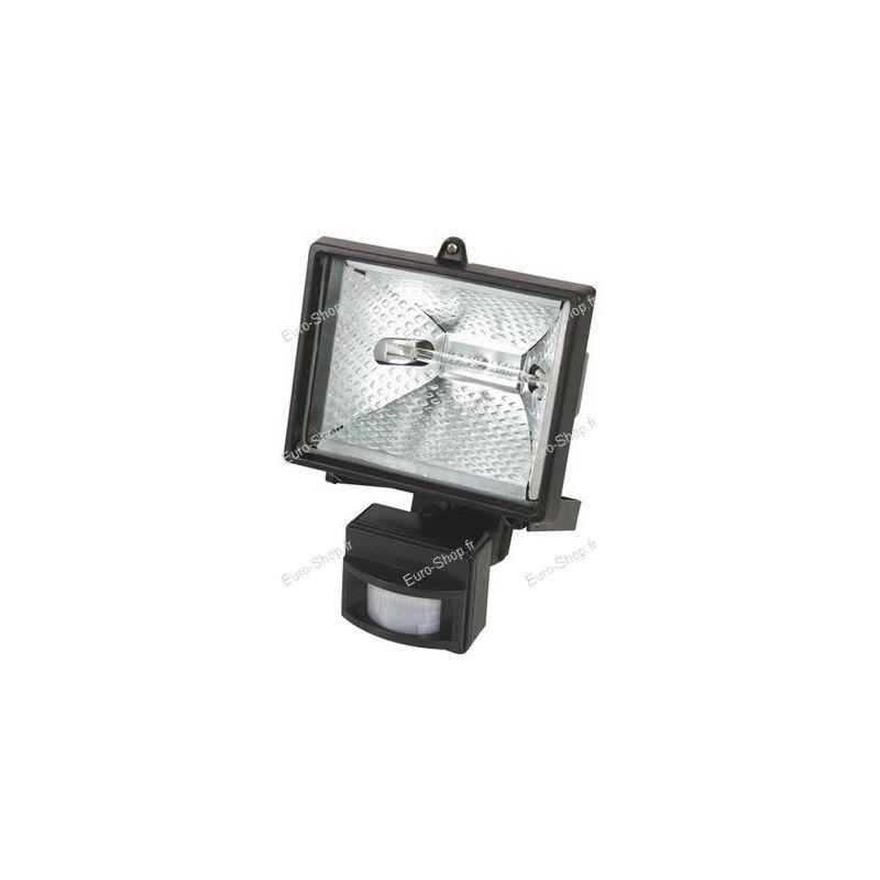 projecteur halog ne 400w avec d tecteur de mouvement pour. Black Bedroom Furniture Sets. Home Design Ideas