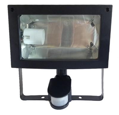 Spot de jardin pour lampe fluocompacte avec détecteur de mouvement