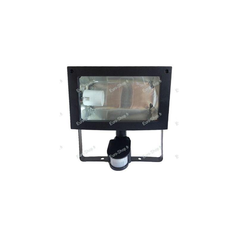 Spot de jardin pour lampe fluocompacte avec d tecteur de mouvement - Lampe avec detecteur ...