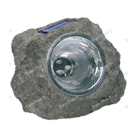 Eclairage solaire à Led en forme de caillou pour jardin
