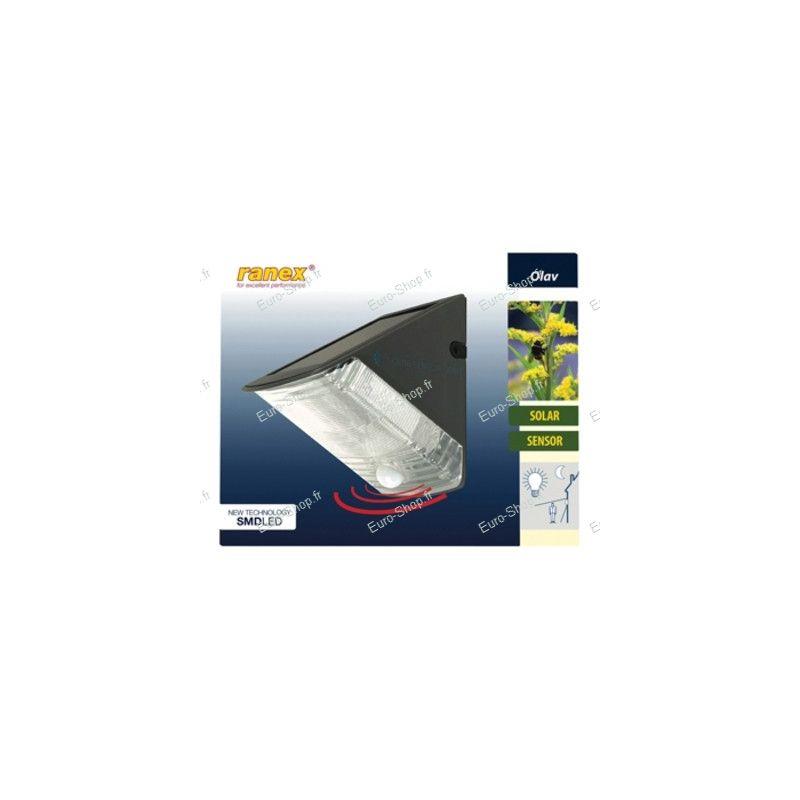 lampe solaire murale exterieure capteur lampe solaire. Black Bedroom Furniture Sets. Home Design Ideas
