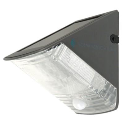 Lampe solaire murale avec détecteur de mouvement