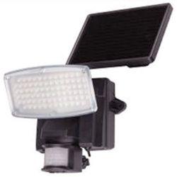 Projecteur solaire 80 Leds avec détecteur de mouvements