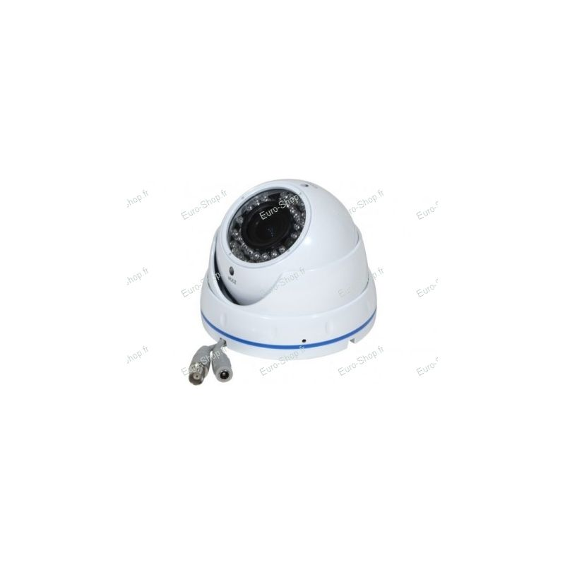 camera dome ext rieur anti vandalisme 600tvl. Black Bedroom Furniture Sets. Home Design Ideas