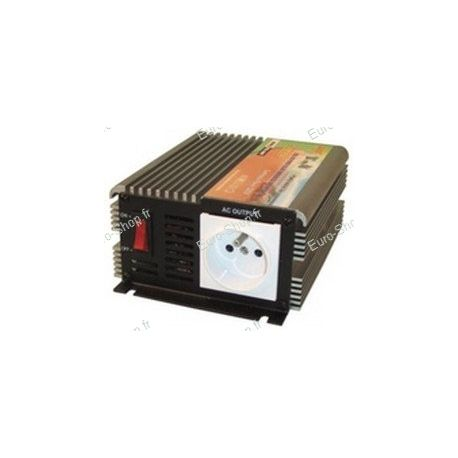 Convertisseur tension 12v vers 220v 300w