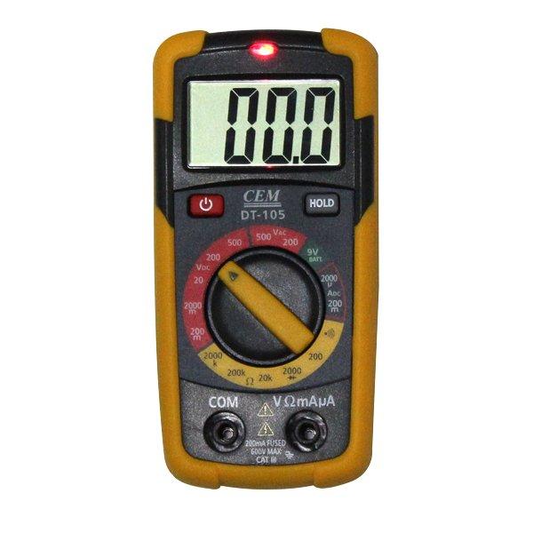 Multimètre de mesure jusqu'à 500V