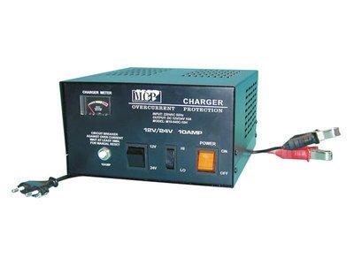 Chargeur de batterie 12ou 24V / 10A