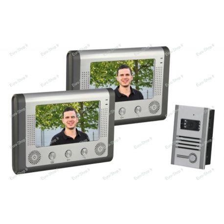 Portier vidéo couleur avec 2 écrans couleurs
