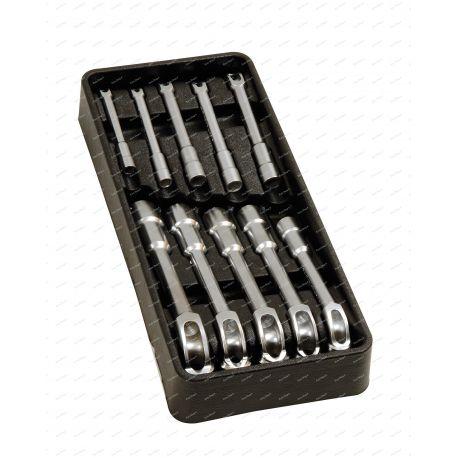 Module de servante avec 10 clés à pipe