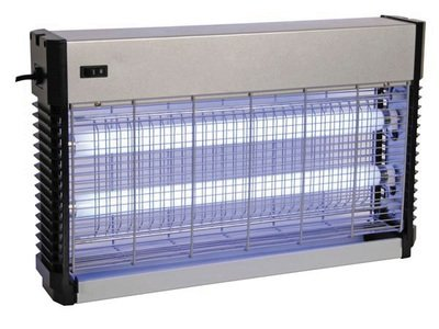 Destructeur d'insecte 2x15w à lampe ultraviolette