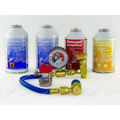 Pack detection fuite avec gaz et anti-fuite pour climatisation automobile