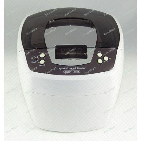 Nettoyeur ultrasons 160W chauffant 2000ml
