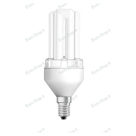 Ampoule fluocompacte E14 8 watts 2500K