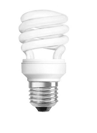 Ampoule fluocompacte E27 18w spirale