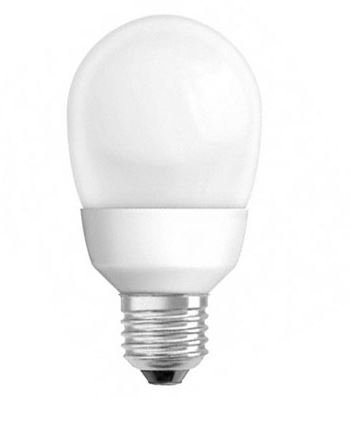 Ampoule fluocompacte E27 15w globe