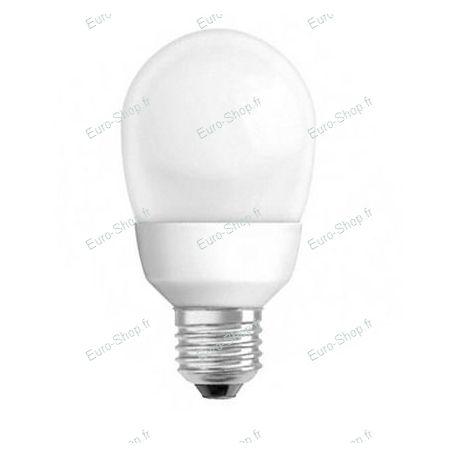Ampoule fluocompacte E27 20w globe