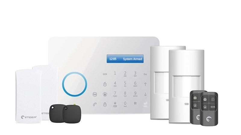Système d'alarme eTiger S2 avec transmetteur téléphonique
