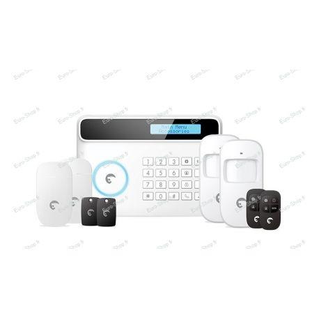 Système d'alarme eTiger S4 avec transmetteur GSM et ligne fixe