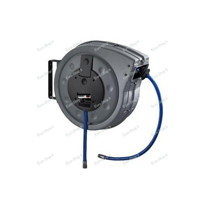 enrouleur automatique de tuyau d 39 air comprim 20 m tuyau 10 15 mm avec raccords rapides. Black Bedroom Furniture Sets. Home Design Ideas