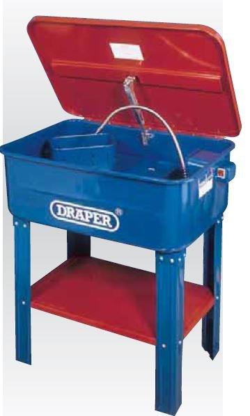 Fontaine de nettoyage pour pièces mécanique 55L 230V