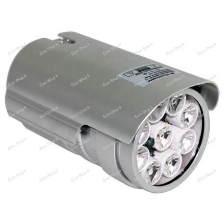 Projecteur infrarouge d'une portée de 60m à 45 degrés