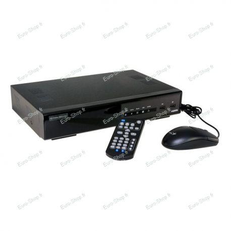 Enregistreur NVR numérique de vidéosurveillance THD