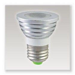 Ampoule Led E27 3W RGB avec télécommande