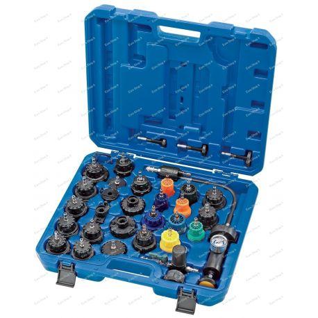 Testeur d'étanchéité circuit de refroidissement moteur professionnel
