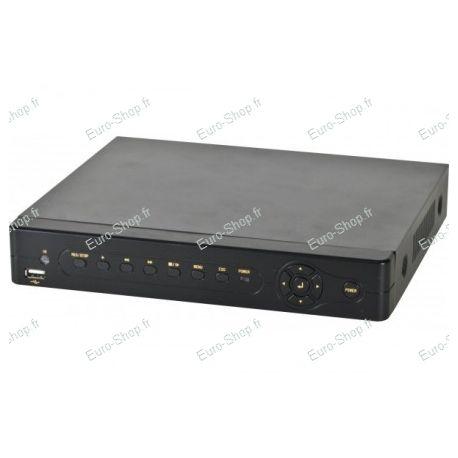 Kit videosurveillance 600TVL avec 4 caméras infrarouges dome intérieur