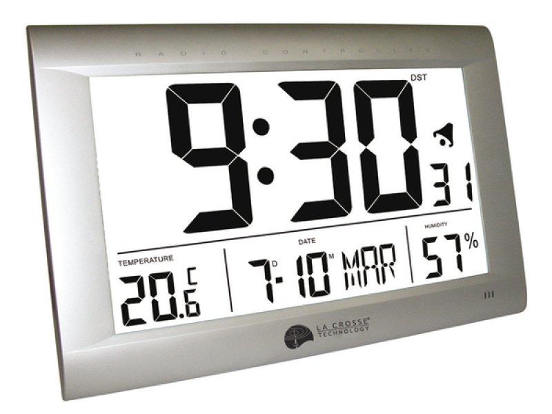Horloge murale grand format, horloge a led pas cher, Horloge led en ...