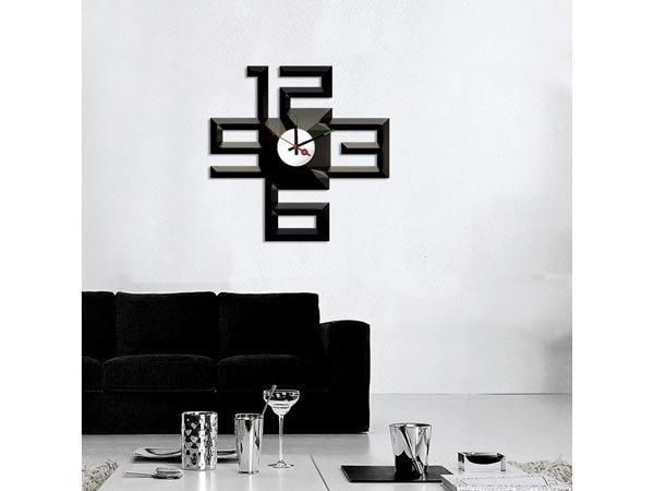 Horloge murale auto-collante