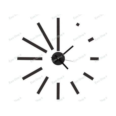 Horloge autocollante murale