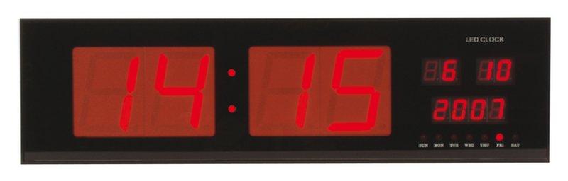 Horloge géante à led pour bureau caserne et usine